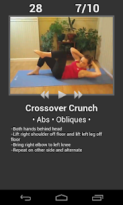 screenshot of Daily Workouts - Exercise Fitness Routine Trainer version 5.26