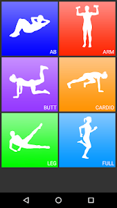 screenshot of Daily Workouts - Exercise Fitness Routine Trainer version Varies with device