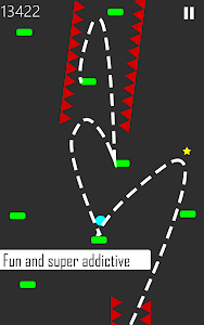 screenshot of Danger Bounce : Addictive and fun ball game version 1.0.6