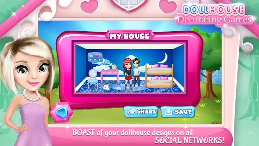 screenshot of Dollhouse Decorating Games version 6.1.2