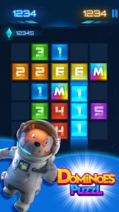 screenshot of Dominoes Puzzle Science style version 14.0