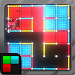 Dots and Boxes (Neon) 80s Style Cyber Game
