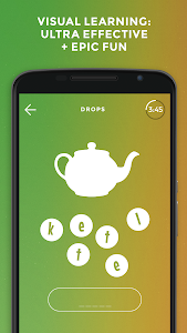 screenshot of Drops: Learn English. Speak English. version 34.19