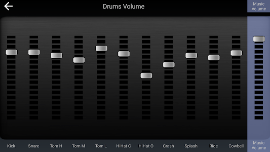 screenshot of Drum Solo HD - The best drumming game version 4.2.2