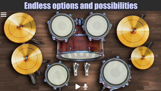screenshot of Drum Solo HD - The best drumming game version 4.5.1