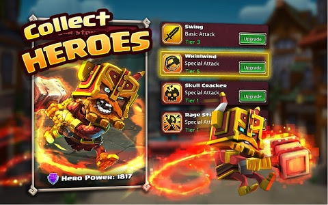 screenshot of Dungeon Boss Heroes - Fantasy Strategy RPG version 0.5.13599