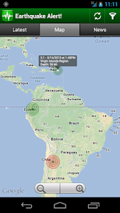 screenshot of Earthquake Alert! version Varies with device