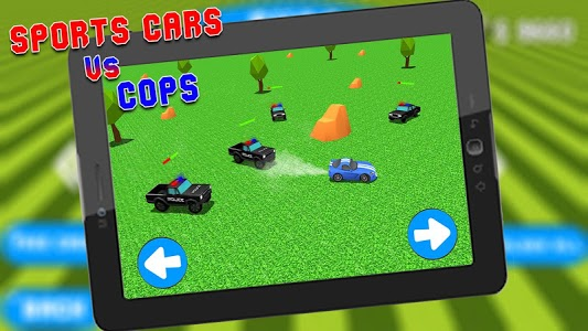 screenshot of Escape From Speedy Cops: Police Car Chase Game version 1.0