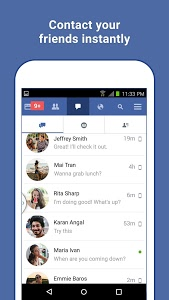screenshot of Facebook Lite version Varies with device