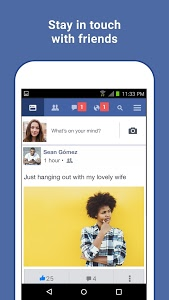 screenshot of Facebook Lite version 138.0.0.15.99