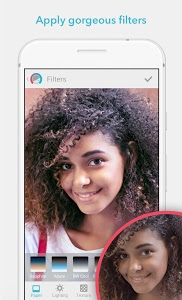 screenshot of Facetune - Selfie Photo Editor for Perfect Selfies version 1.3.0-free