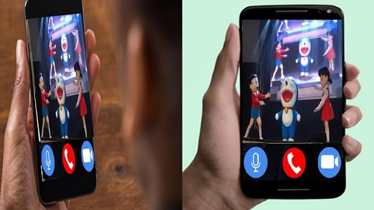 Download Fake Video Call From Clown Dorae Moon 2 0 Apk Downloadapk Net