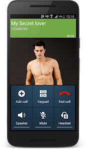 screenshot of Fake phone call version 22.0