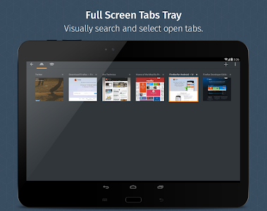 screenshot of Firefox for Android Beta version 67.0