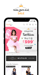 screenshot of FirstCry India - Baby & Kids Shopping & Parenting version 9.6.1