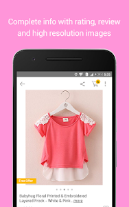 screenshot of FirstCry Baby & Kids Shopping, Fashion & Parenting version 72
