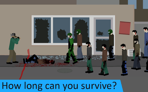 screenshot of Flat Zombies: Cleanup & Defense version 1.4.1