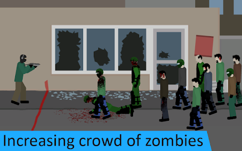 screenshot of Flat Zombies: Defense. Free version 1.2.0