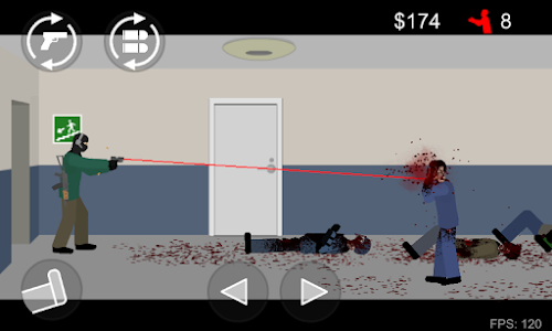 screenshot of Flat Zombies: Defense & Cleanup version 1.5.4