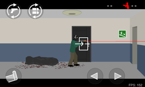 screenshot of Flat Zombies: Defense & Cleanup version 1.5.2