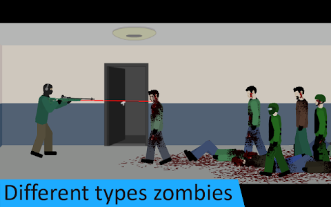 screenshot of Flat Zombies: Defense. Free version 1.2.6