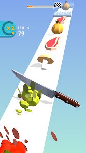 screenshot of Food Cut version 1.0.8