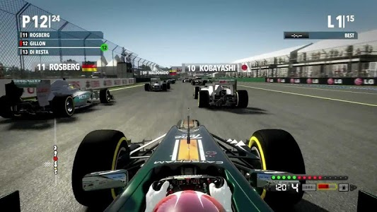 screenshot of Formula Car Racing 2019 version 1.0.1