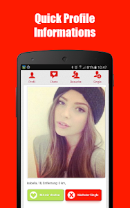screenshot of Free Dating App & Flirt Chat - Match with Singles version 1.933