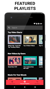 screenshot of Music Videos - Music Player for YouTube version 1.6.6