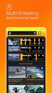 screenshot of Free Video Downloader Pro - Save All Video Clips version 2.2