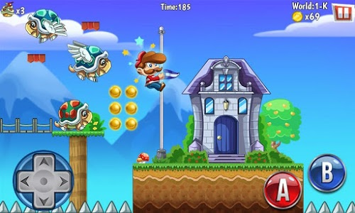 screenshot of French's World 2 version 1.0.7