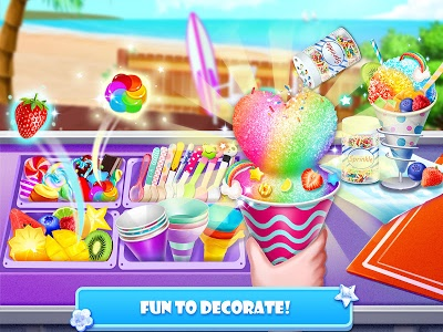 screenshot of Snow Cone Maker - Frozen Foods version 2.1.0.0