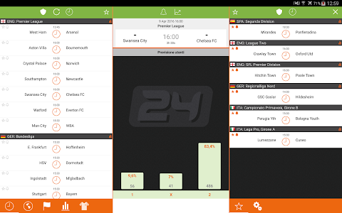 screenshot of Futbol24 version Varies with device