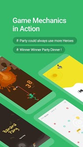 screenshot of GameParty - Free Games, Casual Games and Hot Event version 0.4.2