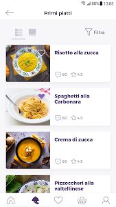 screenshot of GialloZafferano: le Ricette version Varies with device