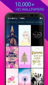 screenshot of Girly HD Wallpapers & Backgrounds version 3.9
