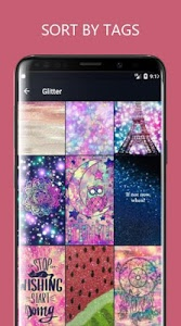 screenshot of Girly Wallpapers Backgrounds version 3.1