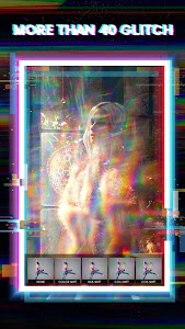 screenshot of Glitch VHS Retro - 3D Glitch Effect & Photo Editor version 1.0.6