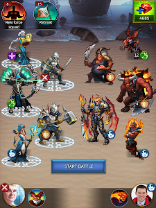 screenshot of Gods and Glory: War for the Throne version 4.1.10.0