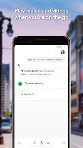 screenshot of Google Assistant - Get things done, hands-free version 0.1.187945513