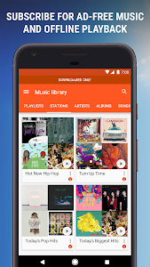 screenshot of Google Play Music version 8.19.7938-1.M