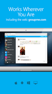 screenshot of GroupMe version 5.35.10