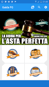 screenshot of Guida per l'asta perfetta, Fantacalcio 2018 version 2.5.6