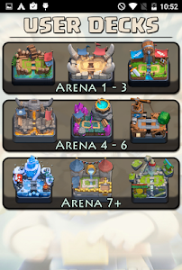 screenshot of Guide for Clash Royale version 1.3.0
