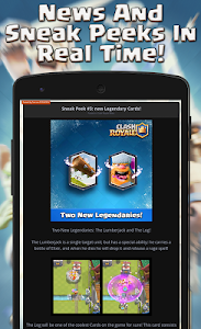 screenshot of Guide for Clash Royale version 1.2.1