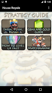 screenshot of Guide for Clash Royale version 1.1.4