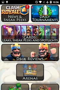 screenshot of Guide for Clash Royale version 1.3.2