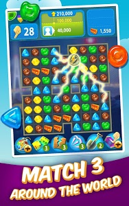 screenshot of Gummy Drop! – Free Match 3 Puzzle Game version 3.18.0