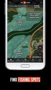 screenshot of onX Hunt #1 Hunting Maps & Offline GPS Navigation version Varies with device