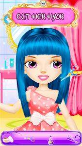 screenshot of Hair Saloon Color by Number - Girls Fashion Games version 1.3